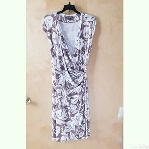 Tommy Bahama floral wrap dress
